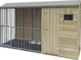 APEX ROOF DOG KENNELS