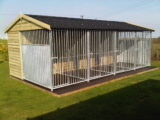 MULTI-BAY KENNELS AND KENNEL BLOCKS